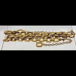St. John Gold Tone Women's Belt